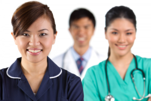 a group of medical staff