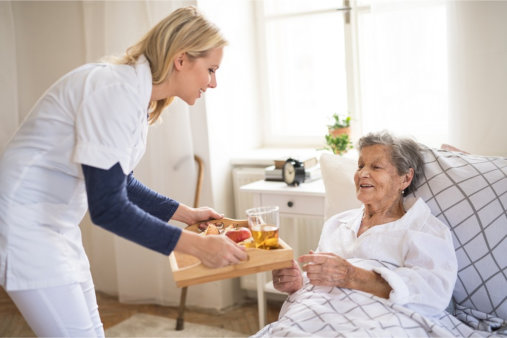 Feeding and Nourishment for the Elderly